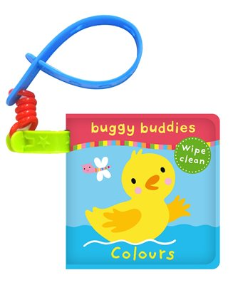 Book cover for Wipe-Clean Buggy Buddies: Colours